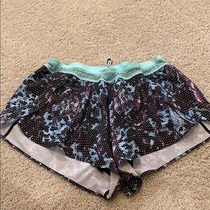 Patterned Lululemon shorts